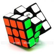 Cubo Mágico Profissional 3x3x3 Qiyi Sail W Preto - Original