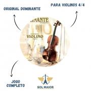 Encordoamento Dominante Violino Orchestral 4/4 Jogo Completo