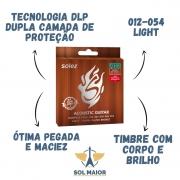 Encordoamento Solez Violão Aço Light NPB 0.012 - SLANPB12