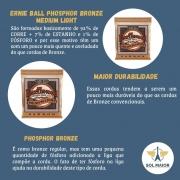 Encordoamento Violão Ernie Ball Phosphor 012 2146 Selo Importador
