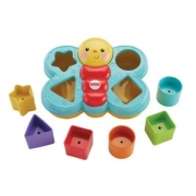 Fisher Price Brinquedo Baby Encaixe Borboleta DjD80