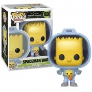 Funko The Simpsons Tree House Of Horror - Bart Spaceman 1026