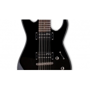 Guitarra Eletrica LTD M17 ESP LM17V 7 Cordas Satin Black