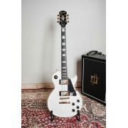 Guitarra EpiPhone Les Paul Custom Pro Alpine White