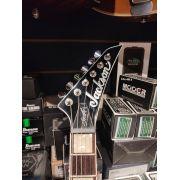 Guitarra Jackson Sign - Scott Ian King V - 555 - Ivory Nfe