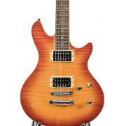 Guitarra Ltd By Esp H 401 Fm Acsb Cherry