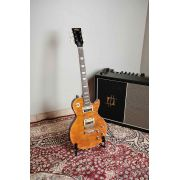 Guitarra Vintage V100 Afd Paradise Ambar V100afd