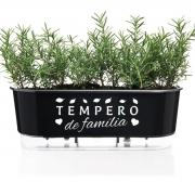 Jardineira Floreira Raiz Autoirrigável 40cm Tempero de Familia