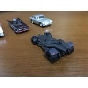 Kit 3 Carrinhos Hot Wheels Dcm55 Batmovel + Ghostbuster