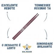 Kit 6 Pares De Baqueta Liverpool Tennessee Roxinho 7a
