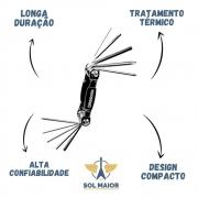 Kit Ferramentas D'addario Multi-tool 10 Chaves Pw-gbmt-01