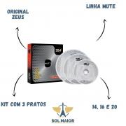 Kit Prato Zeus Mute Set C