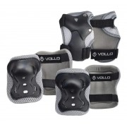 Kit Proteção Vollo 3 Peças Bike Patins Patinete