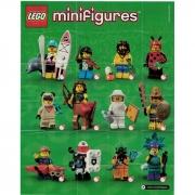 Lego 71029 Minifigures Série 21 Coleção Completa 12 unidades