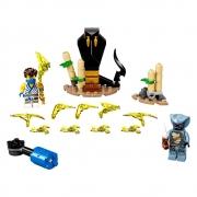 Lego 71732 Conjunto De Combate Épico - Jay Vs Serpentine