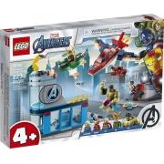 Lego 76152 Super Heroes - Marvel Vingadores A Ira De Loki