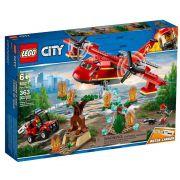 Lego City 60217 - Avião De Combate Ao Fogo