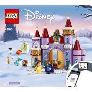 Lego Disney Celebração De Inverno No Castelo Da Bela - 43180
