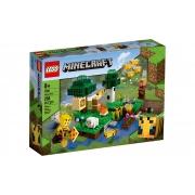 Lego Minecraft 21165 - A Fazenda Das Abelhas  - 238 Peças