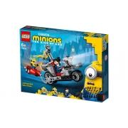 Lego Minions 75549 - Perseguição de Moto Sem Fim 136 peças