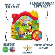 Livro Da Fazenda Educativo Eletrônico Bilingue - Chicco
