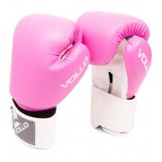 Luvas Boxe Combat Tamanho 8 Oz Vollo Vfg303-8 Rosa