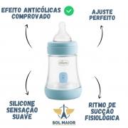 Mamadeira Chicco PERFECT5 0m+ (150ml) - Azul