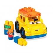 Mini Veículos Mega Bloks Sonny Ônibus Escolar Mattel - GGC81