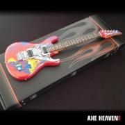 Miniatura Joe Satriani Silver Surfer Mini Axe Heaven