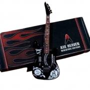 Miniatura Kirk Hammet Signature Ouija Guitarra Axe Heaven