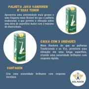Palheta Java Para Sax Tenor 3 Caixa Com 5 Vandoren