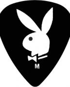 Palheta Playboy Heavy Clayton USA - Pack com 12