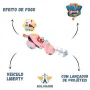 Patrulha Canina Veiculo Liberty Com lançador - 2704 Sunny