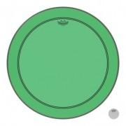 Pele De Bumbo Remo Powerstroke 3 Colortone Verde P3 22