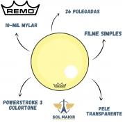 Pele Remo 26