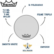 Pele Remo Bumbo Marcial 16