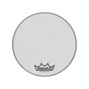 """Pele Remo Bumbo Marcial 18"""" Emperor Smooth White BB-1218-MP"""