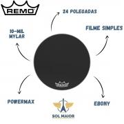 Pele Remo de Bumbo Marcial 24