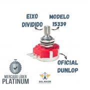 Potenciômetro 500K DSP500KBU Eixo Dividido Metal Dunlop 15335