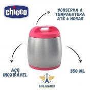 Recipiente Térmico Para Alimentos Inox Chicco Rosa