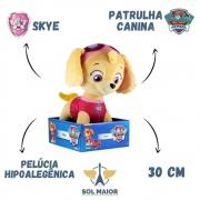 Skye de Pelúcia Patrulha Canina 30 cm - 1342 Sunny