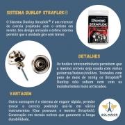 Straplock Dunlop Tradicional Cromado Sls1501n P/ Guitarra