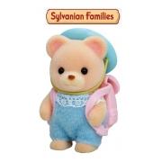 Sylvanian Families Boneco Bebê Urso Com Acessório 5412 Epoch