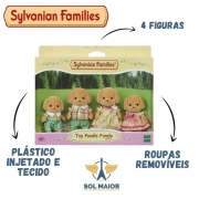 Sylvanian Families Família Dos Poodles Toys - Epoch 5259