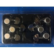 Tarraxa Gotoh Com Trava Magnum Lock Sg301-20 Mgt 3x3 Cromada
