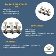 Tarraxa para Violão 3+3 Pino Grosso TXPG Smart
