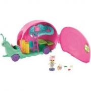 Veículo Playset e Mini Boneca - Enchantimals - Carrinho Caracol - Mattel GCT42