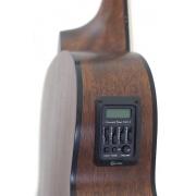 Violão Crafter Aço Hm-100e Natural Baby Regulado!