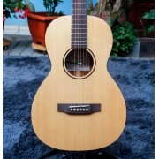 Violão Parlor Tampo Solid Spruce B/S Mogno EQ DS-2 ES-PE Crafter