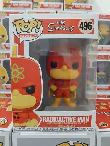 Funko Pop Television The Simpsons Radioactive Man 496